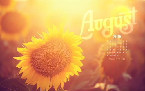 Calendar Desktop Wallpaper August : Beautiful august desktop mobile wallpaper free backgrounds