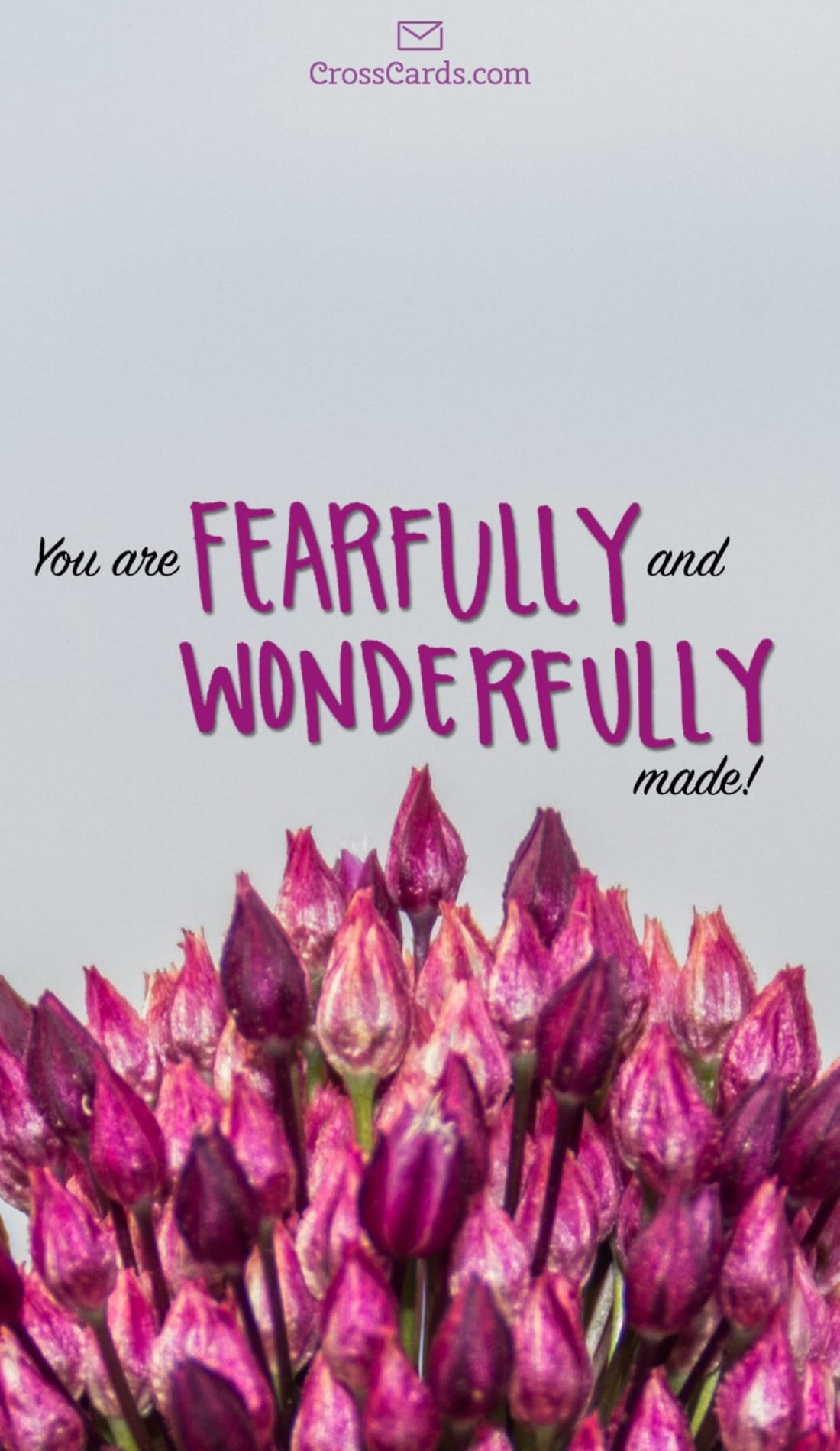 you are fearfully and wonderfully made desktop wallpaper