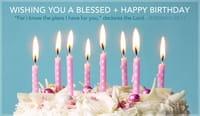 Happy Birthday - Jeremiah 29:11