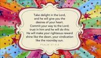 Psalm 37:4-6