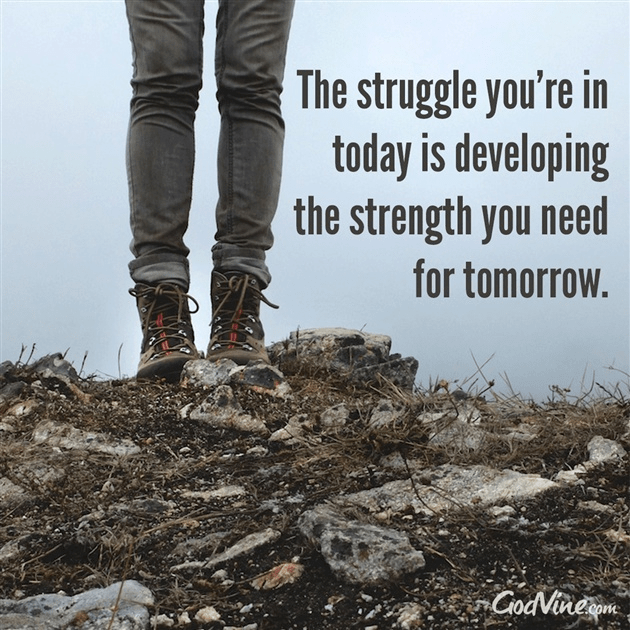 When Struggle Develops Strength