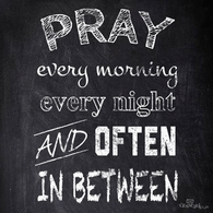 Pray Often