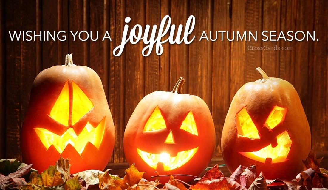 Wishing you a joyful autumn season!