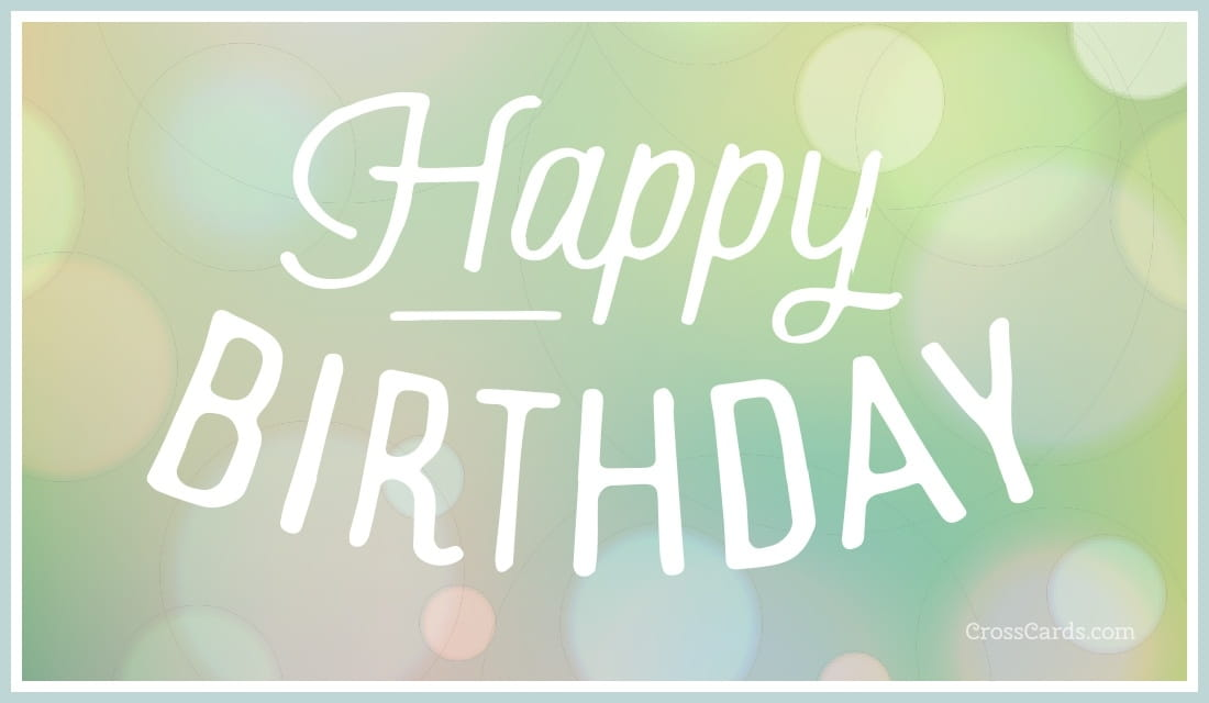 Free Happy Birthday E Cards gangcraftnet – Free Happy Birthday E Card