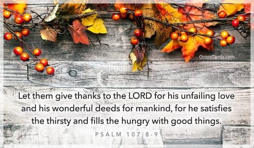 Psalm 107:8-9