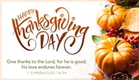 Happy Thanksgiving - Give Thanks