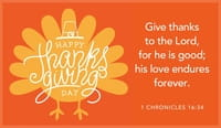 Happy Thanksgiving - Give Thanks - Turkey