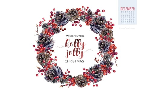 December 2016 - Wishing you a holly jolly Christmas