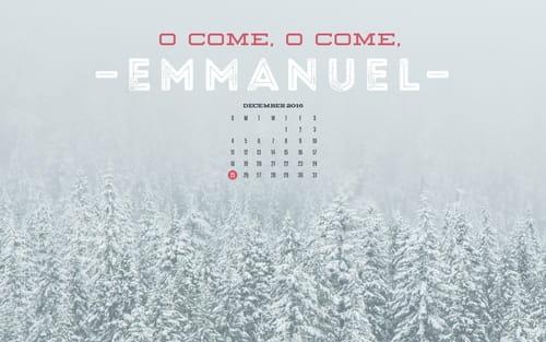 December 2016 - Emmanuel