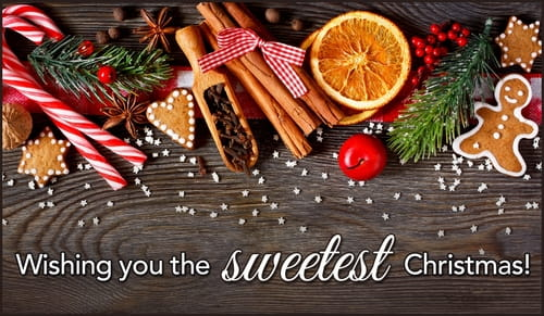Wishing You the Sweetest Christmas