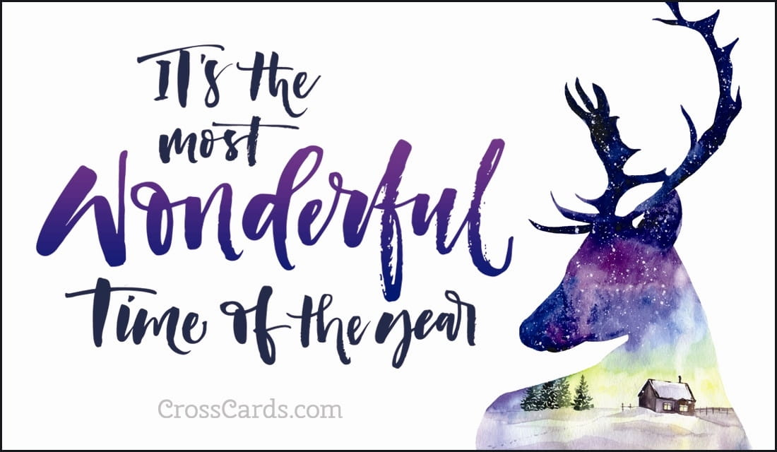 It 39 S The Most Wonderful Time Of The Year Ecard Free