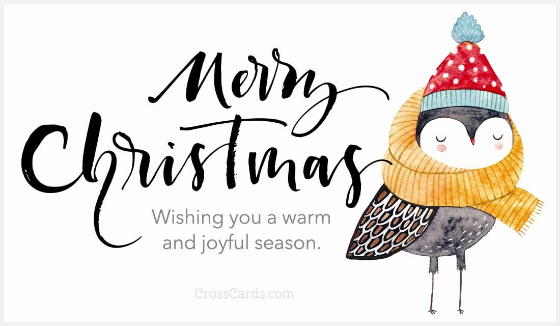 Wishing you a warm and joyful season.