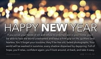 Happy New Year - The Message