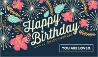 Happy Birthday - Enjoy Your Day