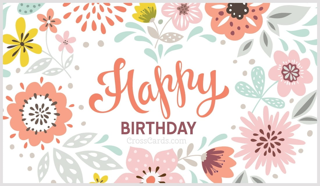 Free Happy Birthday eCard eMail Free Personalized Birthday Cards – Happy Birthdays Cards