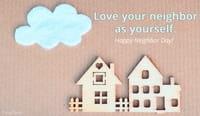 Happy Neighbor Day! (3/26)