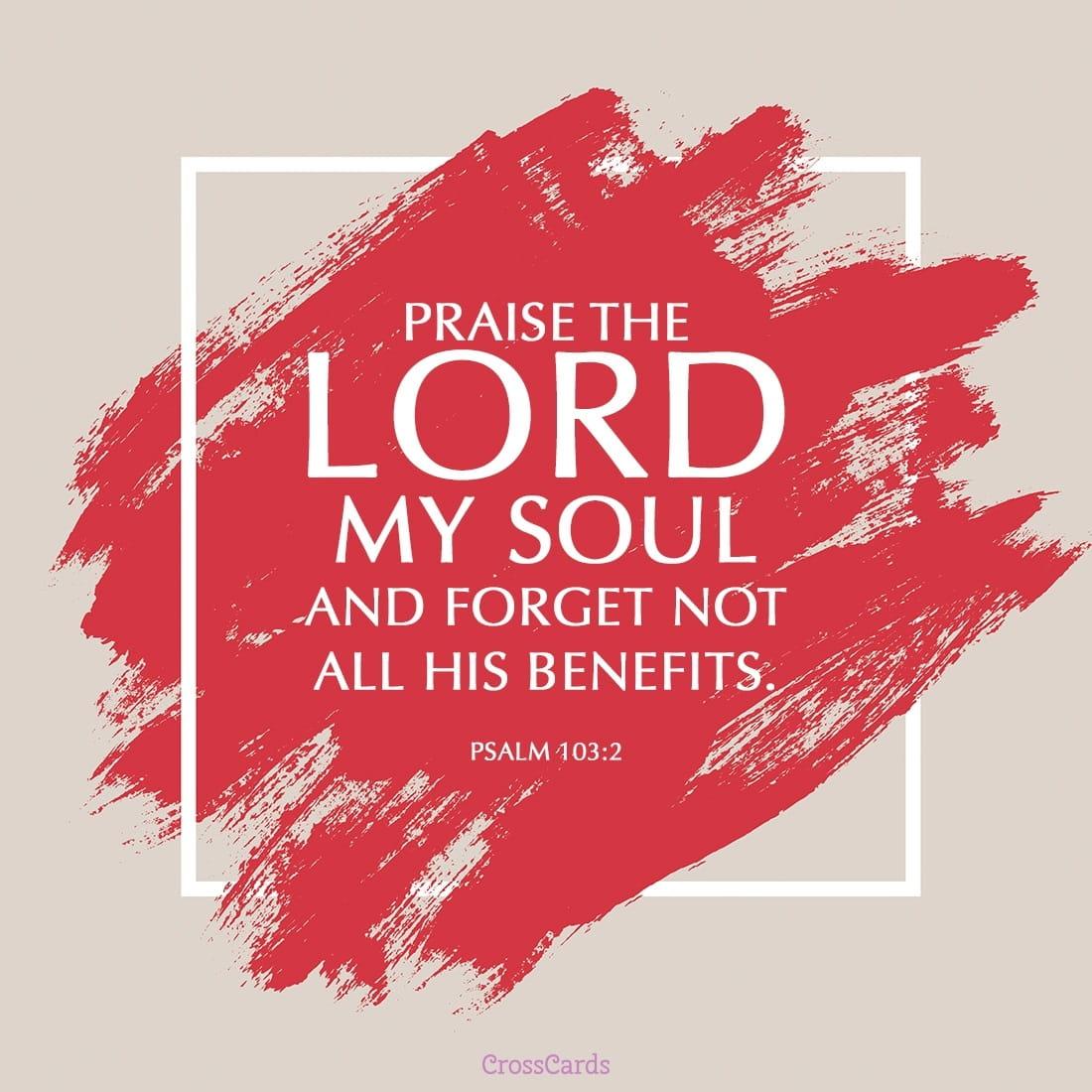 free psalm 103 2 ecard
