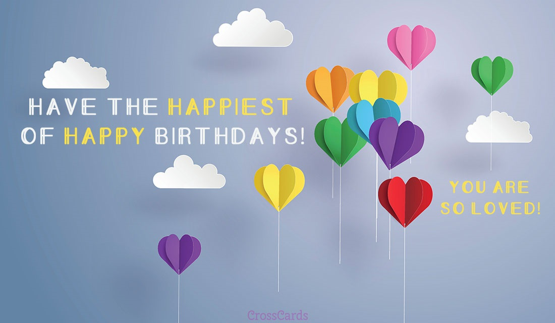 Free Birthday eCards The Best Happy Birthday Cards Online – Online Birthday Cards