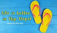 Happy Flip Flop Day! (6/16)