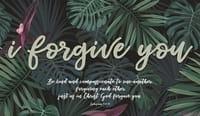 I Forgive You