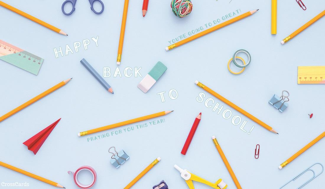 Happy Back to School! ecard, online card