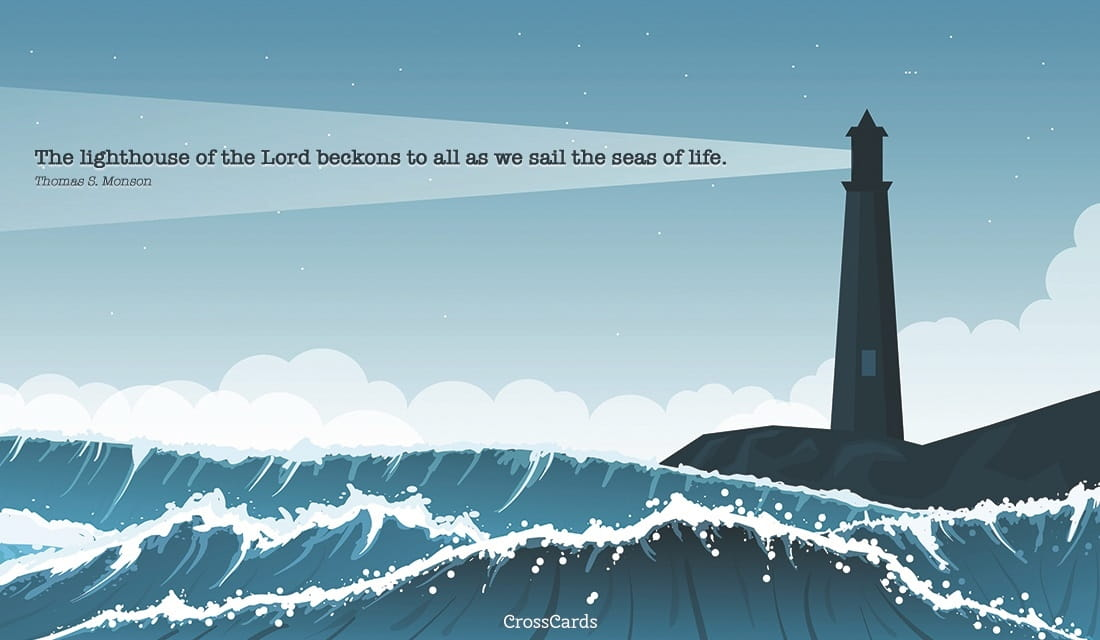 free happy lighthouse day   8  7  ecard