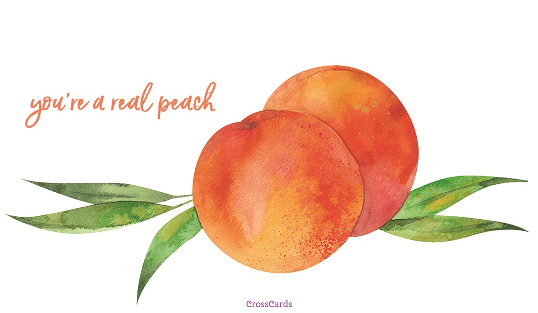 Happy Eat a Peach Day! (8/22)