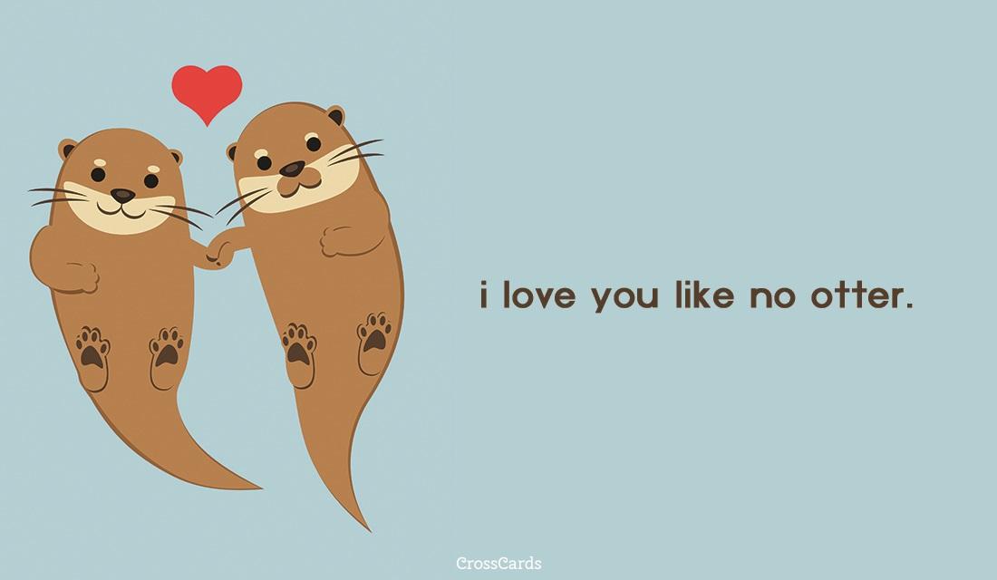 No Otter ecard, online card