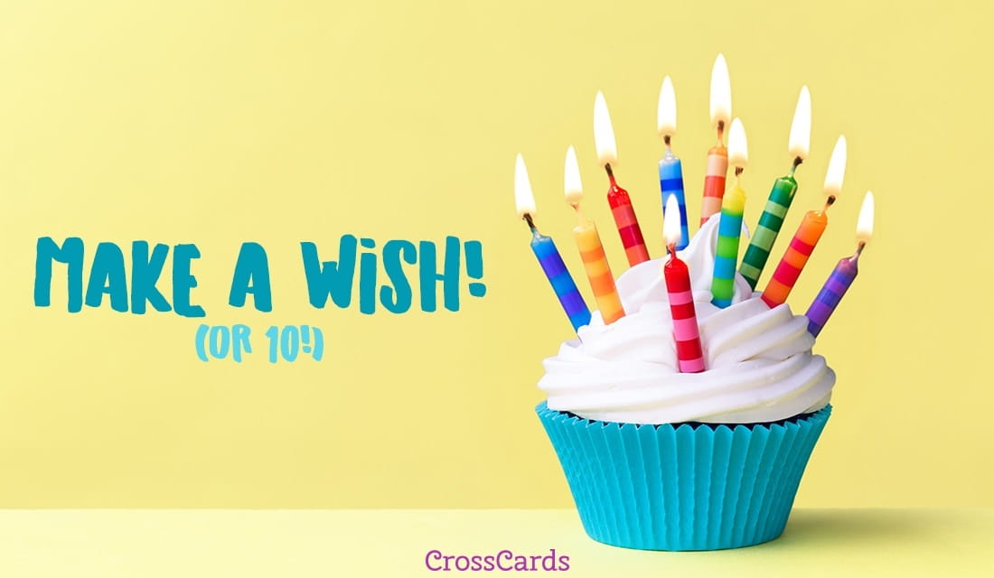 We Made A Wish And It Was You We Made: EMail Free Personalized Birthday