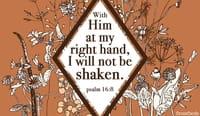 Psalm 16:8