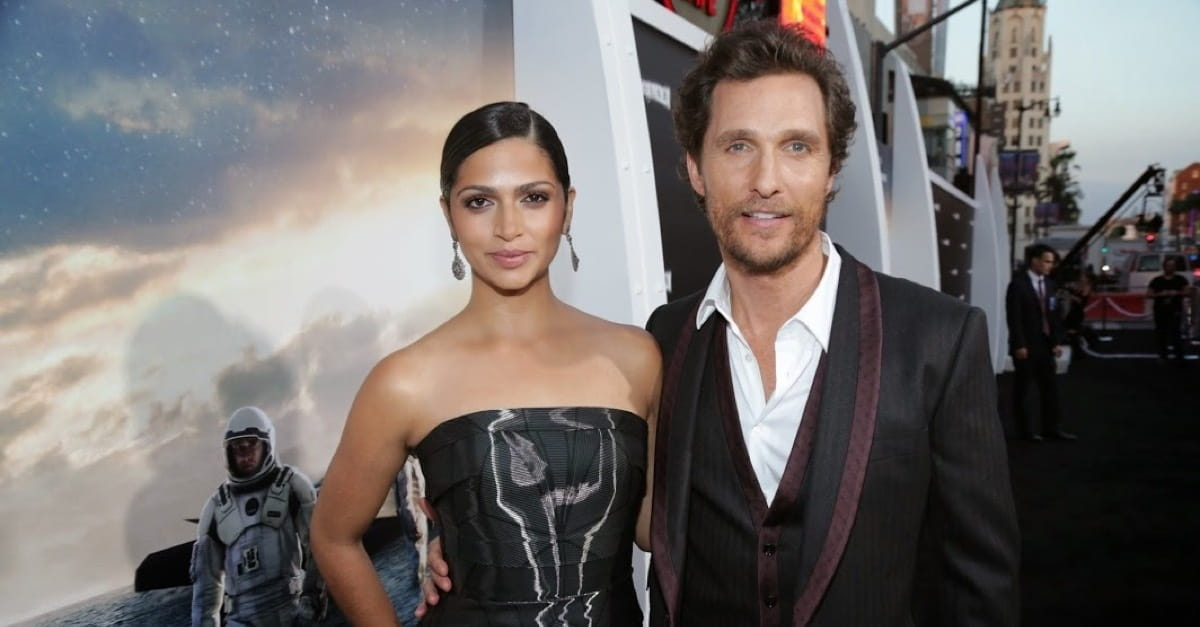 Actor Matthew McConaughey Shares a Surprising Insight on Marriage