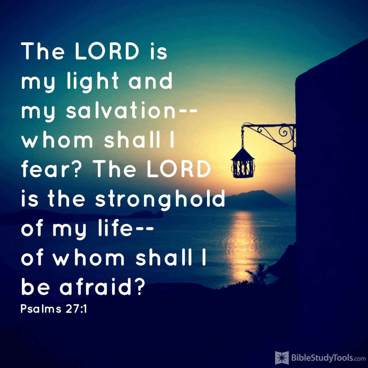 Of Whom Shall I Be Afraid?