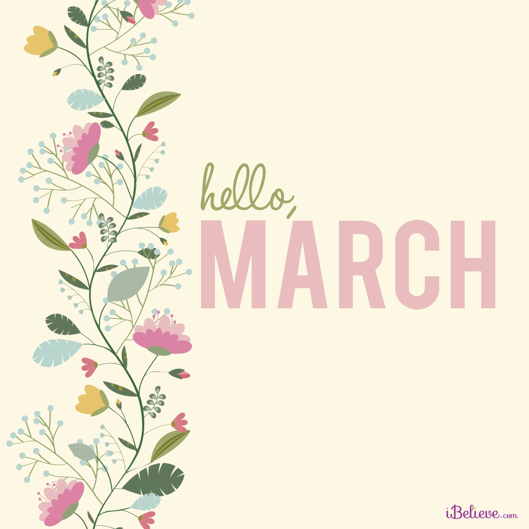 hello march inspirations