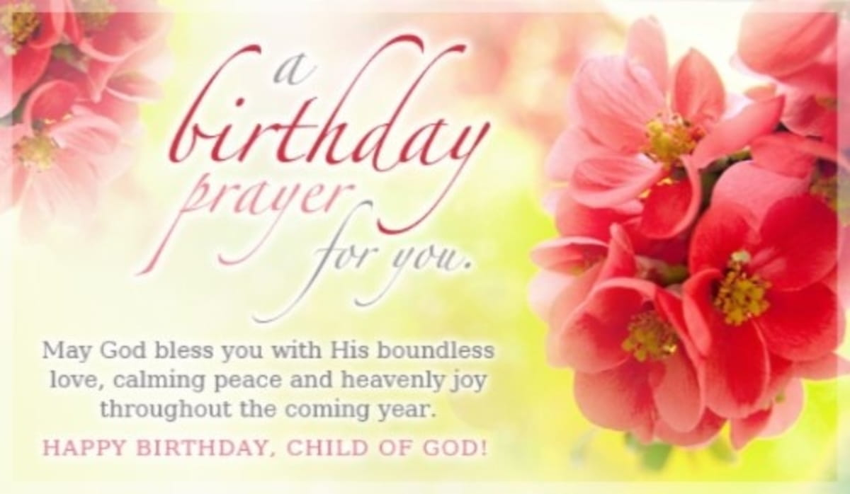 Birthday Prayers - Share Beautiful Blessings!