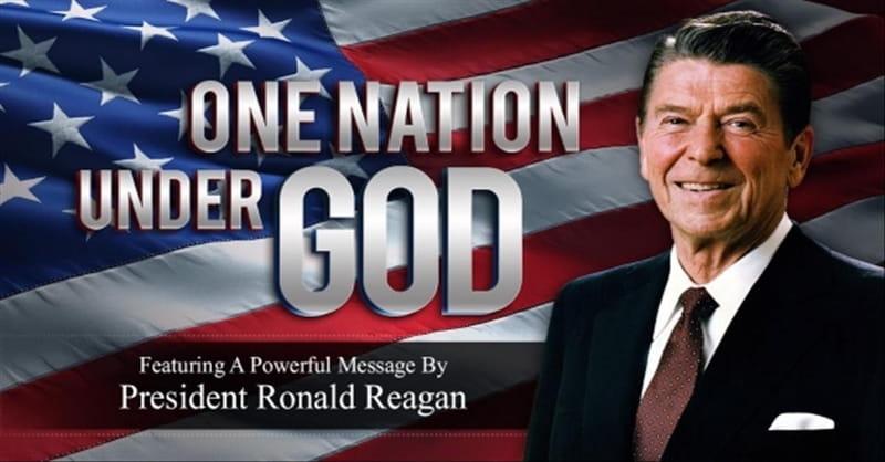 'One Nation Under God' - Powerful Speech From President Reagan
