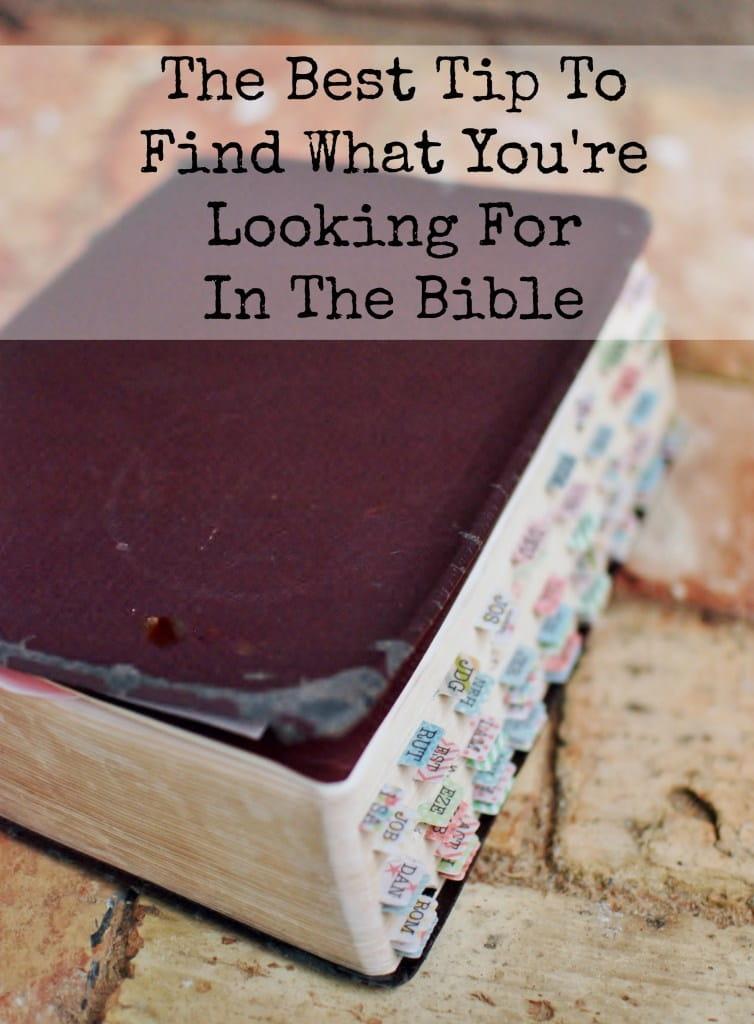 best-tip-bible