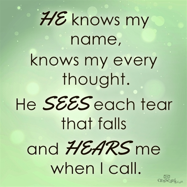 He Hears Me When I Call