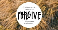 A Prayer to Forgive Yourself - Your Daily Prayer - September 23, 2016