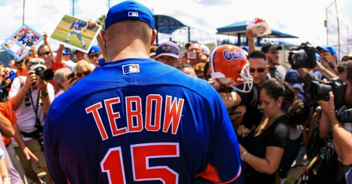 Tim Tebow Explains Why the Negative is Just Not Worth It
