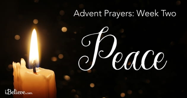 advent prayers week two the peace of advent by bobbie. Black Bedroom Furniture Sets. Home Design Ideas