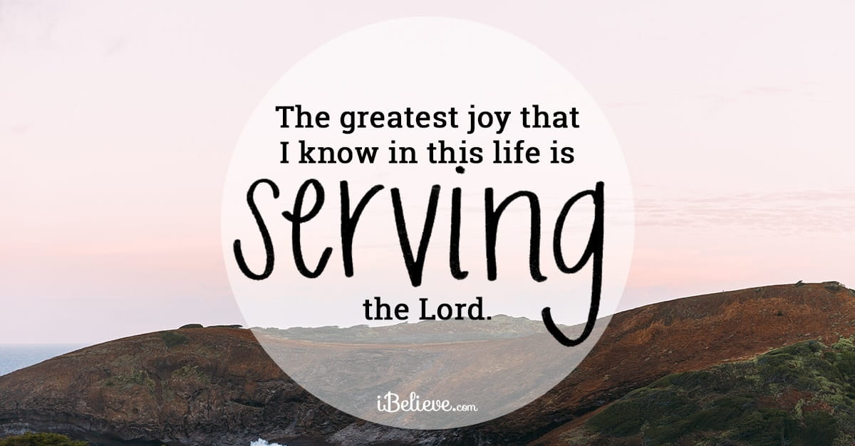 A Prayer for Serving Others With Joy - Your Daily Prayer - April 11, 2017