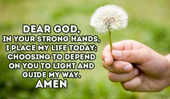 praying for god's guidance