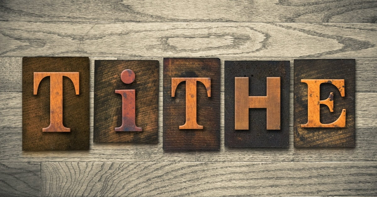 the different reasons why we give tithes Tithe: what the bible says when should i tithe we are to return the tithe to god first—before we start god says we rob him if we don't give tithe and.