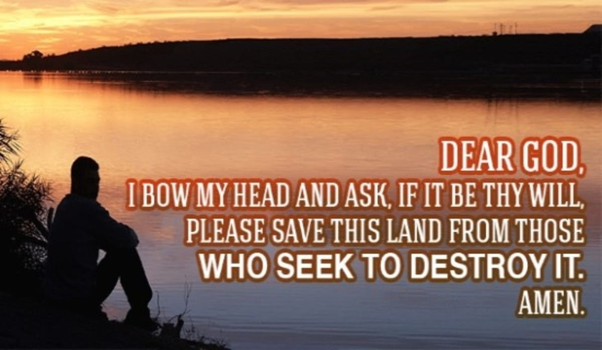 Please Save This Land