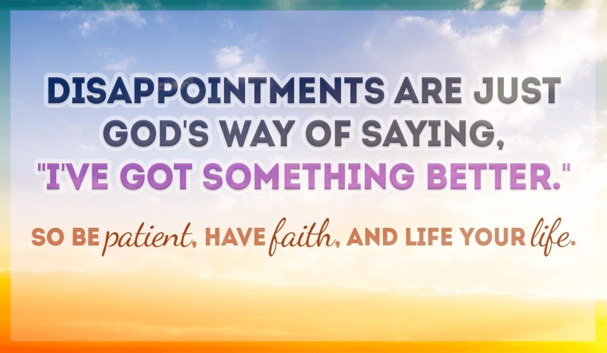 God Has Something Better