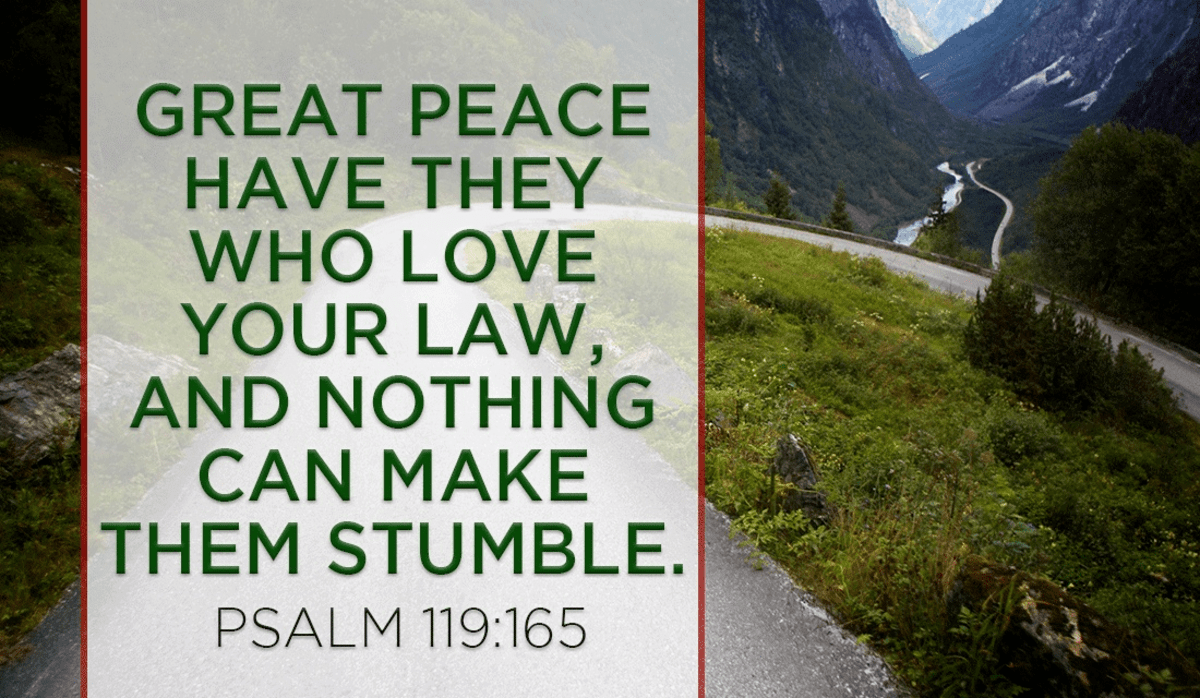 Abide by the Law and You Will Not Stumble