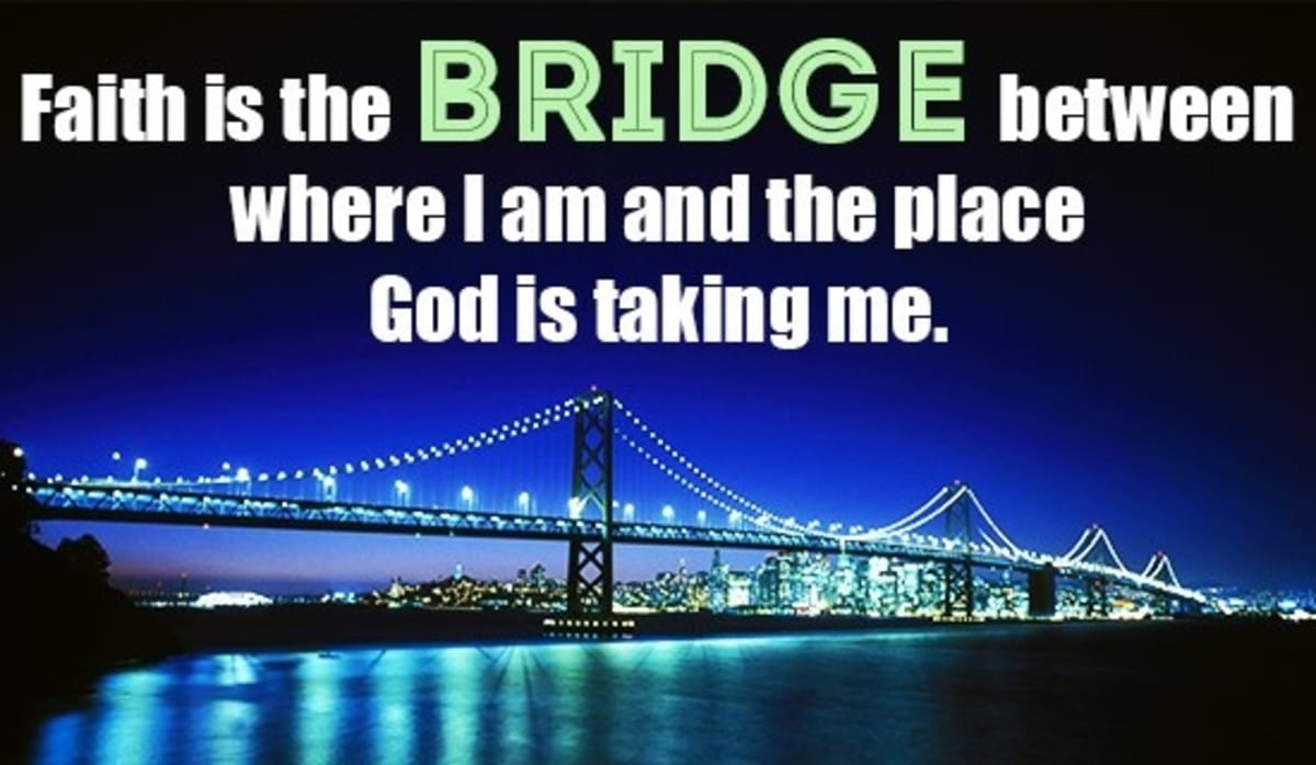 Have Faith That God Will Take You Where You Need to Go