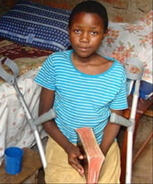 Ugandan Girl Tortured for Christ Regaining Use of Legs