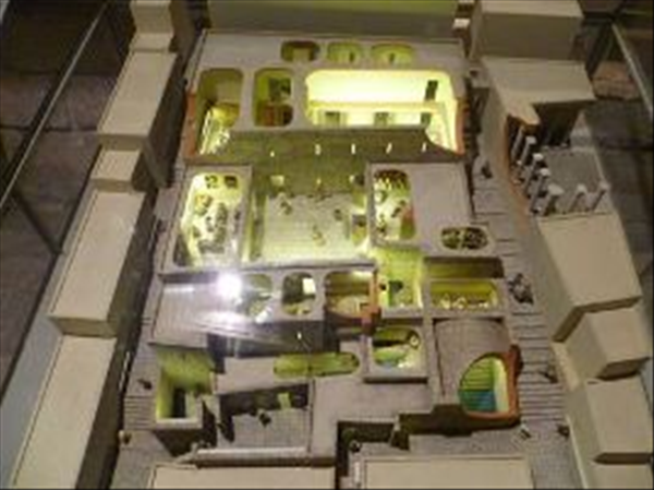 Herodian Quarter model