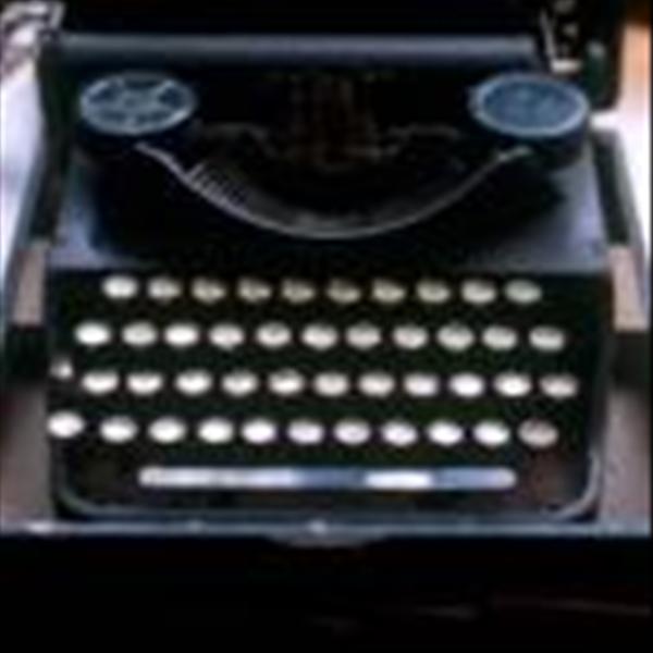 C.S. Lewis typewriter